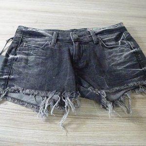 Siwy Alia Nothin Else Matters Wash Cutoff Shorts